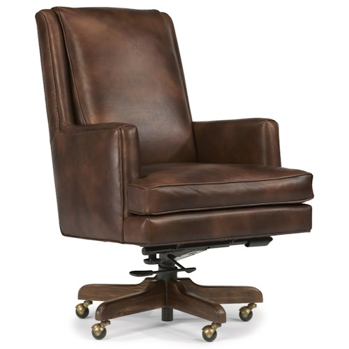 desk chairs flexsteel wynwood collection office chairs office chair