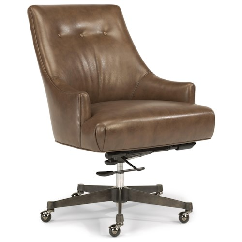 Flexsteel Wynwood Collection Office Chairs Mid Century Modern Office Chair Wi