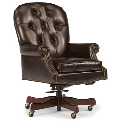 Wynwood A Flexsteel Company Office Chairs Traditional Office Chair With Butt