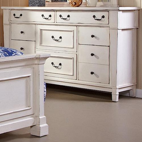 Folio 21 stoney creek drawer dresser wilson 39 s furniture for Stoney creek bedroom set