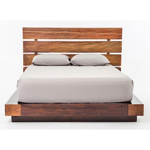 Four Hands Bina Iggy Reclaimed Wood King Bed