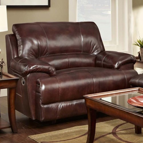 chair and a half recliner with casual style caswell by
