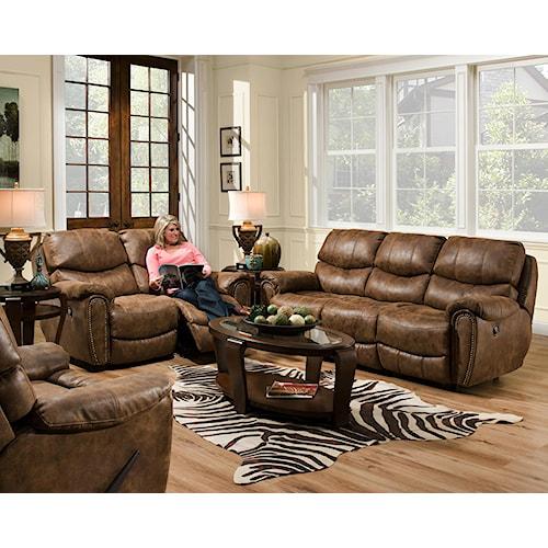 Franklin Richmond Reclining Living Room Group Olinde 39 S Furniture Reclining Living Room Group