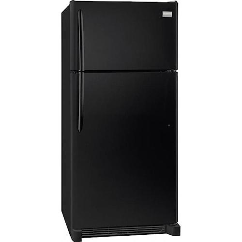 frigidaire gallery 18 cu ft top freezer refrigerator boulevard home furnishings. Black Bedroom Furniture Sets. Home Design Ideas