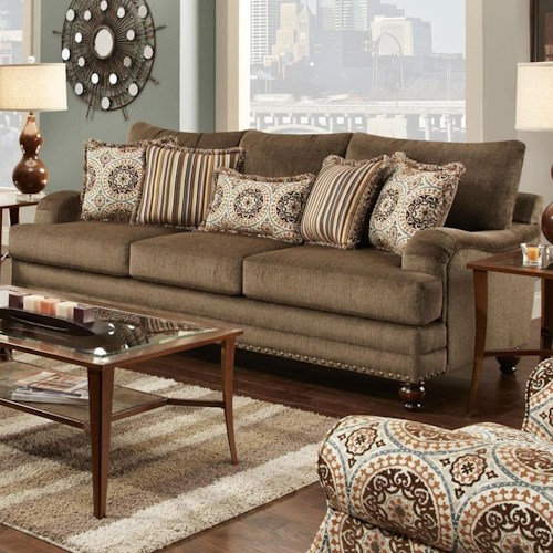 Fusion Sofa Fusion Furniture The 2470 Kp Maxwell Pecan
