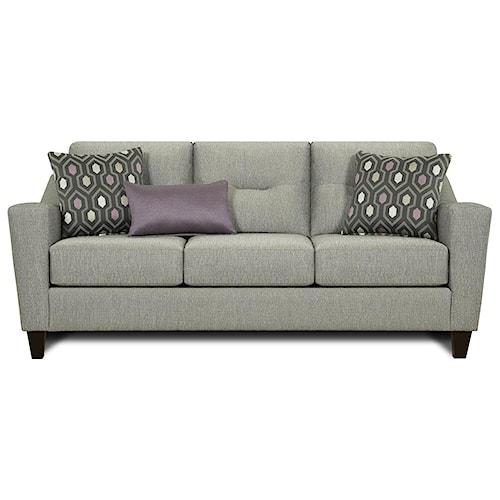 Fusion Furniture 8210 Contemporary Sofa Pilgrim