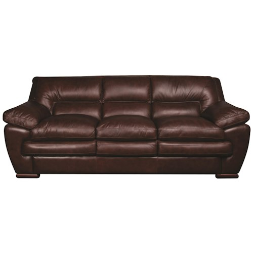 Austin 100 leather sofa morris home furnishings sofa for Leather sectional sofa austin