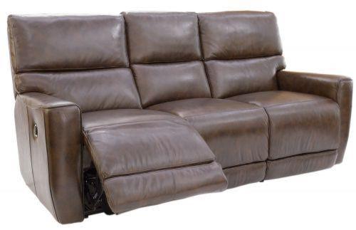 Futura Leather Winfield Power Reclining Sofa Homeworld