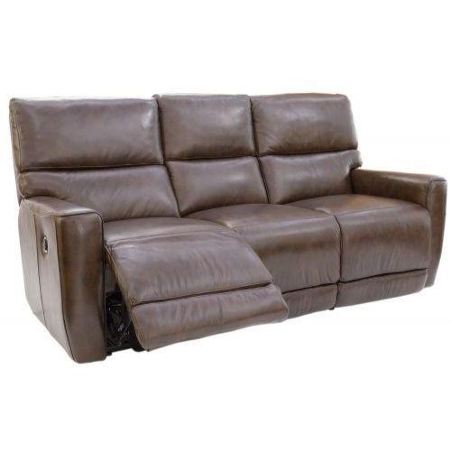Futura Leather Winfield Power Reclining Sofa Homeworld Furniture Reclining Sofas