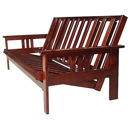 futon frames sedona full size futon frame rotmans. Black Bedroom Furniture Sets. Home Design Ideas