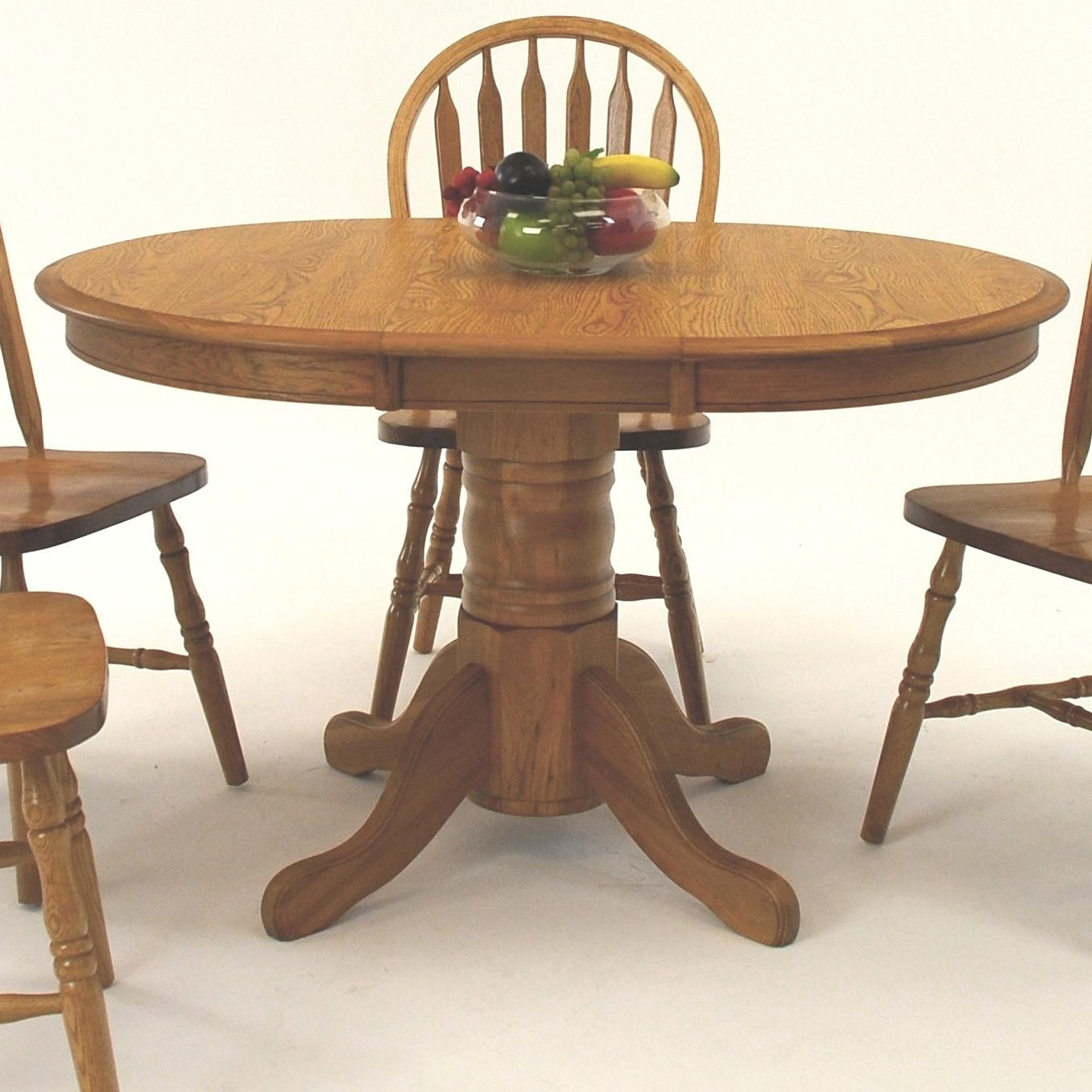 GS Furniture Classic Oak Oval Pedestal Dining Table with  : american20classicew2b364814chew2t364814ch bjpgscalebothampwidth500ampheight500ampfsharpen25ampdown from www.a1furniture.com size 500 x 500 jpeg 46kB