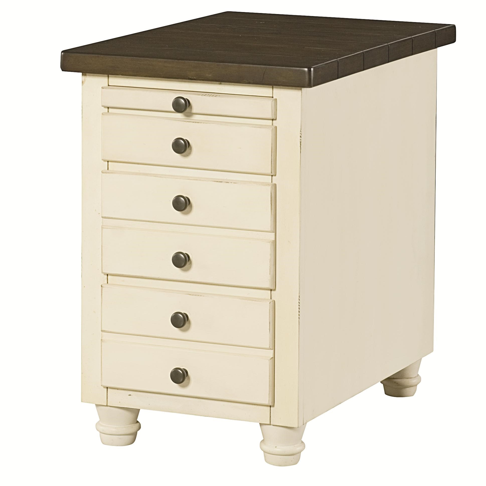 Hammary Heartland Chairside Table Chest with 3 Drawers and  : heartland20346346 916 b0jpgscalebothampwidth500ampheight500ampfsharpen25ampdown from www.wayside-furniture.com size 500 x 500 jpeg 24kB