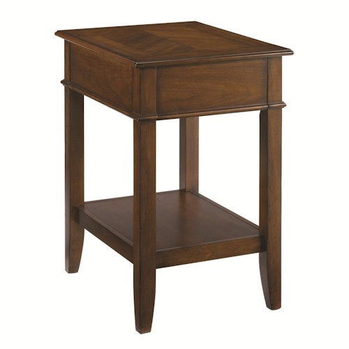 Hammary Mercantile Corner Table Belfort Furniture End