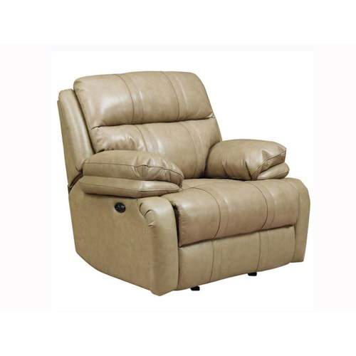 Happy leather company 1286 power recliner ivan smith for Ivan smith furniture