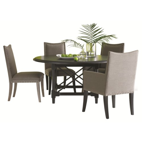 HGTV Home Furniture Collection Caravan Round Kitchen Table Set Baer 39 S F