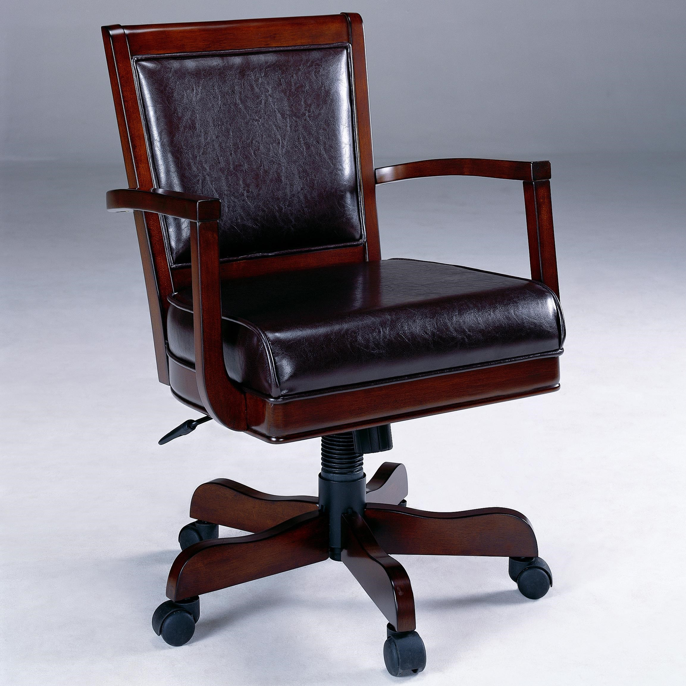 Hillsdale Ambassador Adjustable Game Chair With Casters