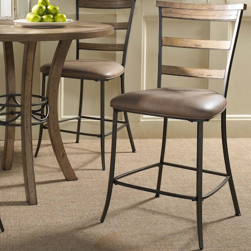 Hillsdale Charleston Ladder Back Non Swivel Stool Olinde 39 S Furniture