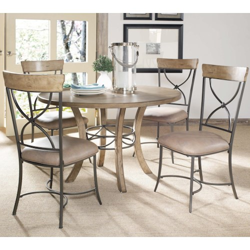 Hillsdale Charleston 5 Piece Dining Table And Chair Set Olinde 39 S Furnit
