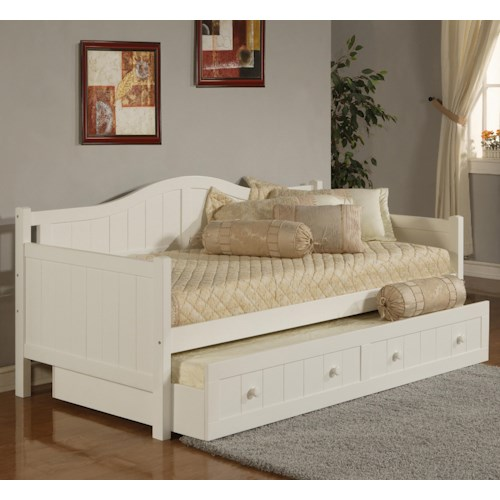 Hillsdale Daybeds Twin Staci Daybed With Trundle Wayside Furniture Daybed
