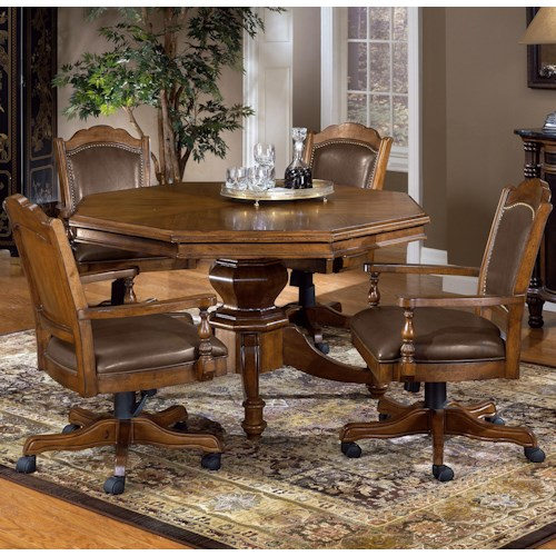 hillsdale nassau 5 piece game table set hudson 39 s