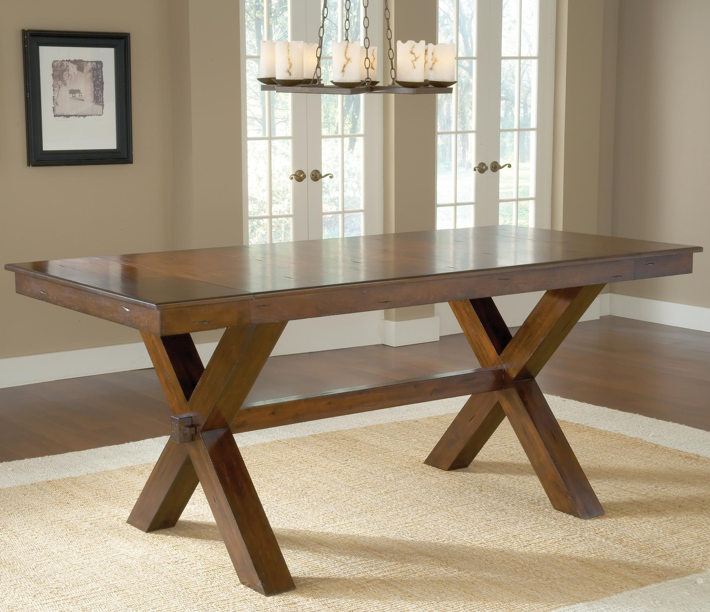 Hillsdale Park Avenue Counter Height Trestle Table  : park20avenue2046924692ctb b0jpgscalebothampwidth500ampheight500ampfsharpen25ampdown from www.wayside-furniture.com size 500 x 500 jpeg 49kB