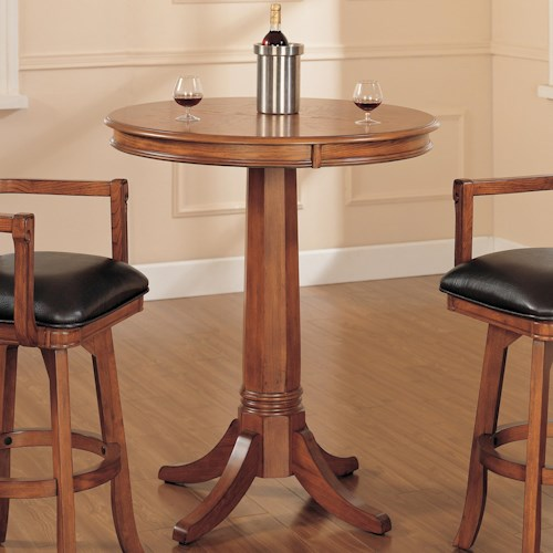 Hillsdale Park View Round Pub Table Godby Home