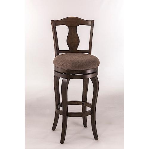 ... Room Furniture Bar Stools Hillsdale Wood Stools Swivel Counter Stool