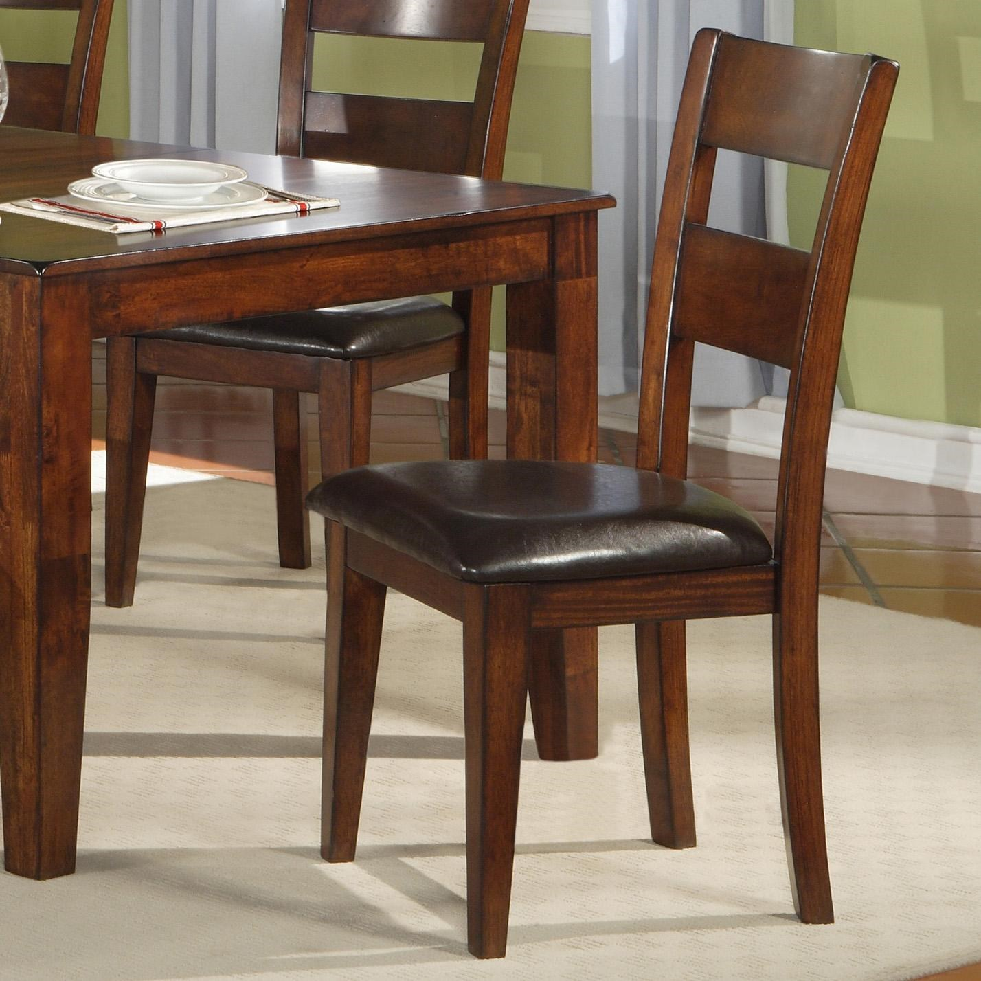 Warehouse M 1279 Dining Room Ladder Back Side Chair with