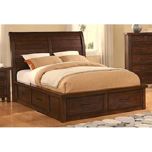 Sonoma Storage Sleigh Bed