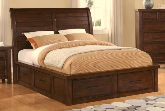 Holland House 2678 Sonoma King Sleigh Bed with Storage