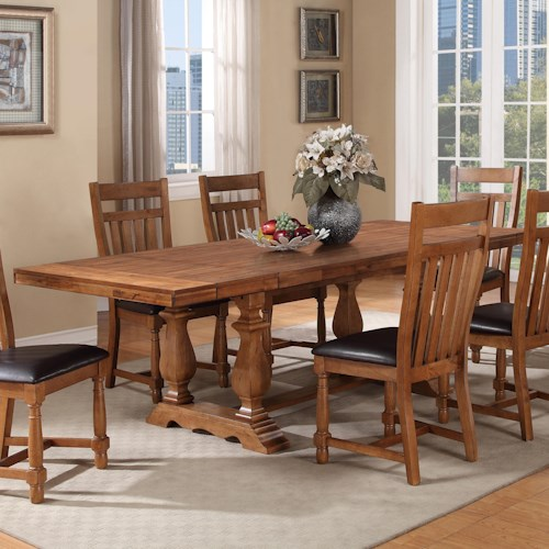 home dining room furniture dining room table warehouse m bryce canyon