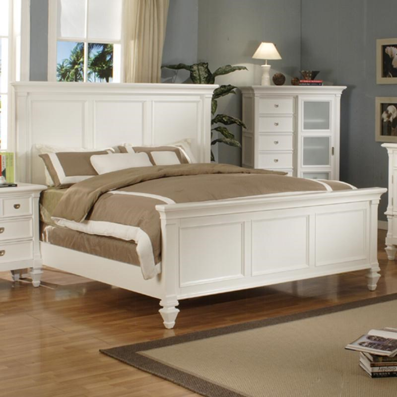Holland House Summer Breeze King Panel Bed Godby Home
