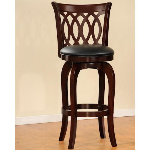 Homelegance 1133 Swivel Barstool Beck 39 S Furniture Bar Stool Sacramento Rancho Cordova