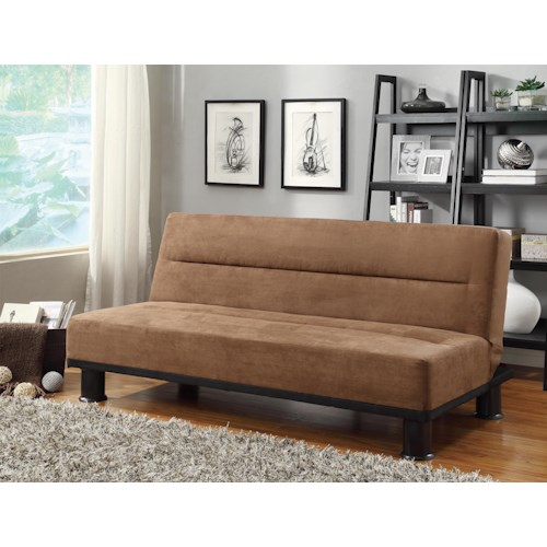 homelegance callie casual click clack futon value city