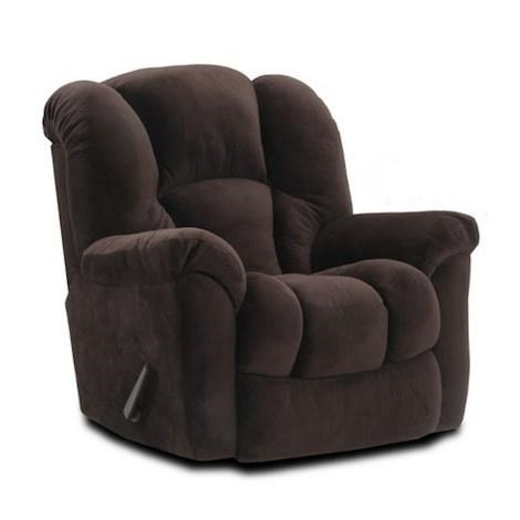 ... Casual Rocker Recliner with Bucket Seat at Great American Home Store