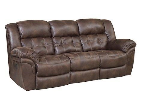 HomeStretch 129 Casual Reclining Sofa Miskelly Furniture