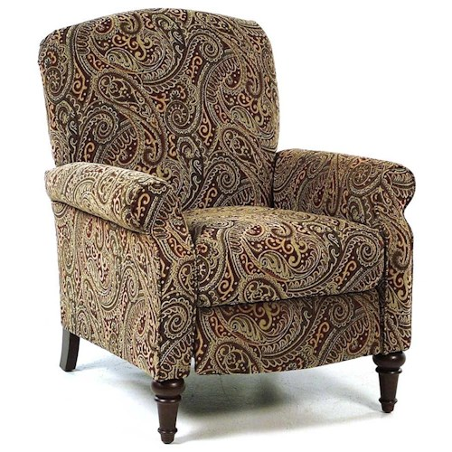 Comfort Living Paisley Hi Leg Recliner Rotmans High Leg Recliner Worcester Boston Ma