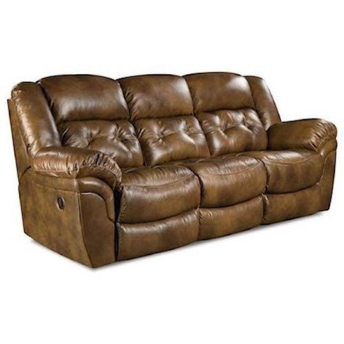 Homestretch Cheyenne Casual Double Reclining Power Sofa