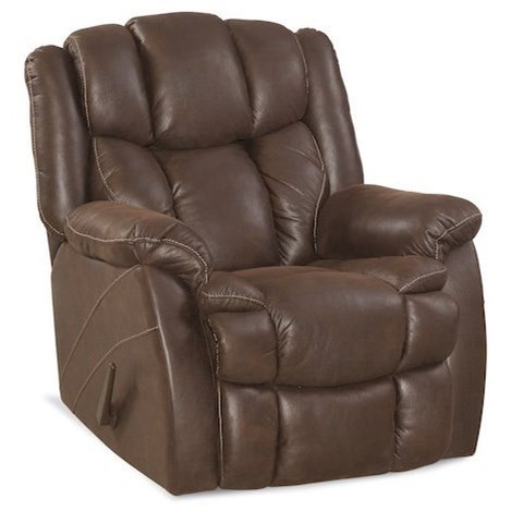 HomeStretch Renegade Casual Rocker Recliner with Bustled