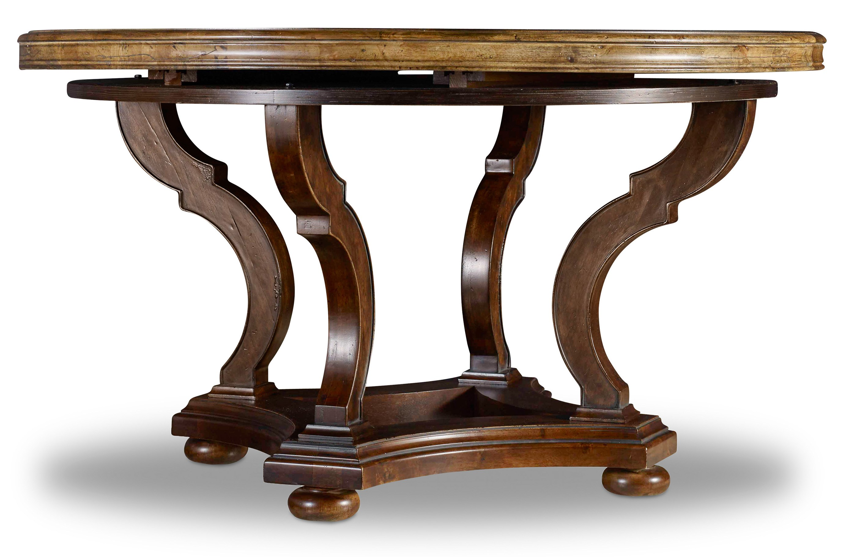hooker furniture archivist 54in round dining table with