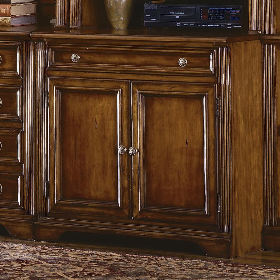 Brookhaven Kitchen Cabinets: Hooker Furniture Brookhaven Two Door & One Drawer Computer