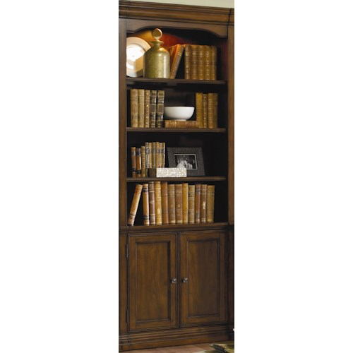 Hooker Furniture Cherry Creek Traditional 32 Inch Wall Storage Cabinet J J Furniture