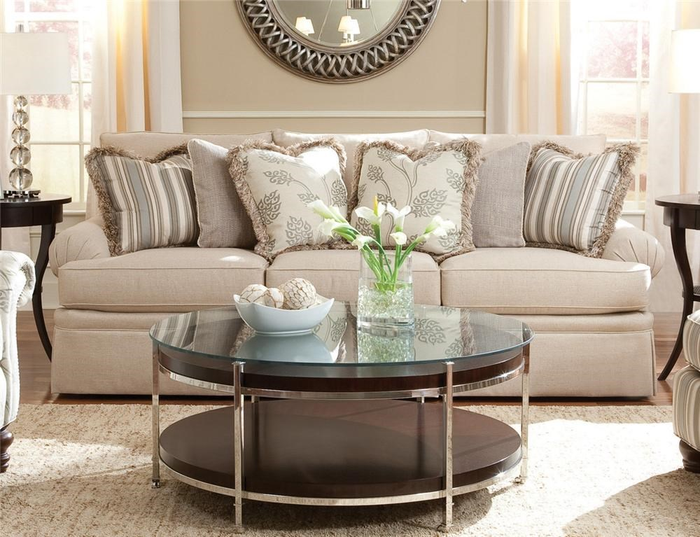 Merveilleux Huntington House 2081 Sofa With Low Profile Rolled Arm Belfort Furniture