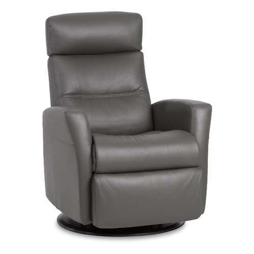 img norway divani compact size manual recliner with swivel