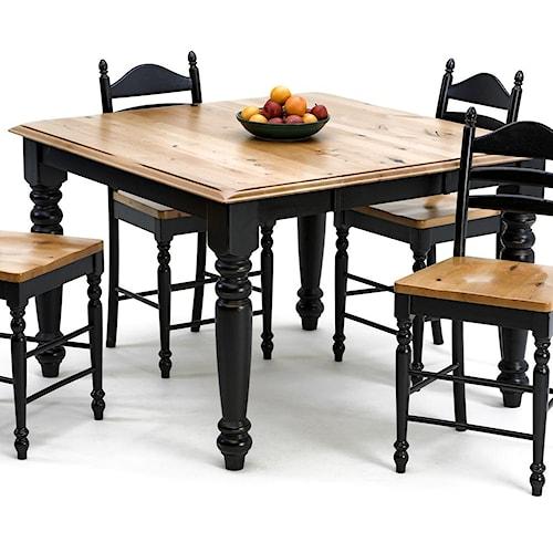 Intercon Hillside Village Gathering Dining Table Wayside