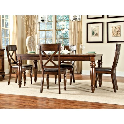 home dining room furniture dining 5 piece set intercon kingston dining
