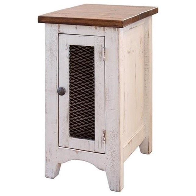 International Furniture Direct Pueblo Rustic Chairside