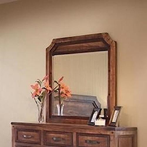international furniture direct regal framed dresser mirror