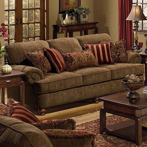 Jackson Furniture 4347 Belmont 4347 03 Sofa Lapeer Furniture Mattress Center Sofas Flint