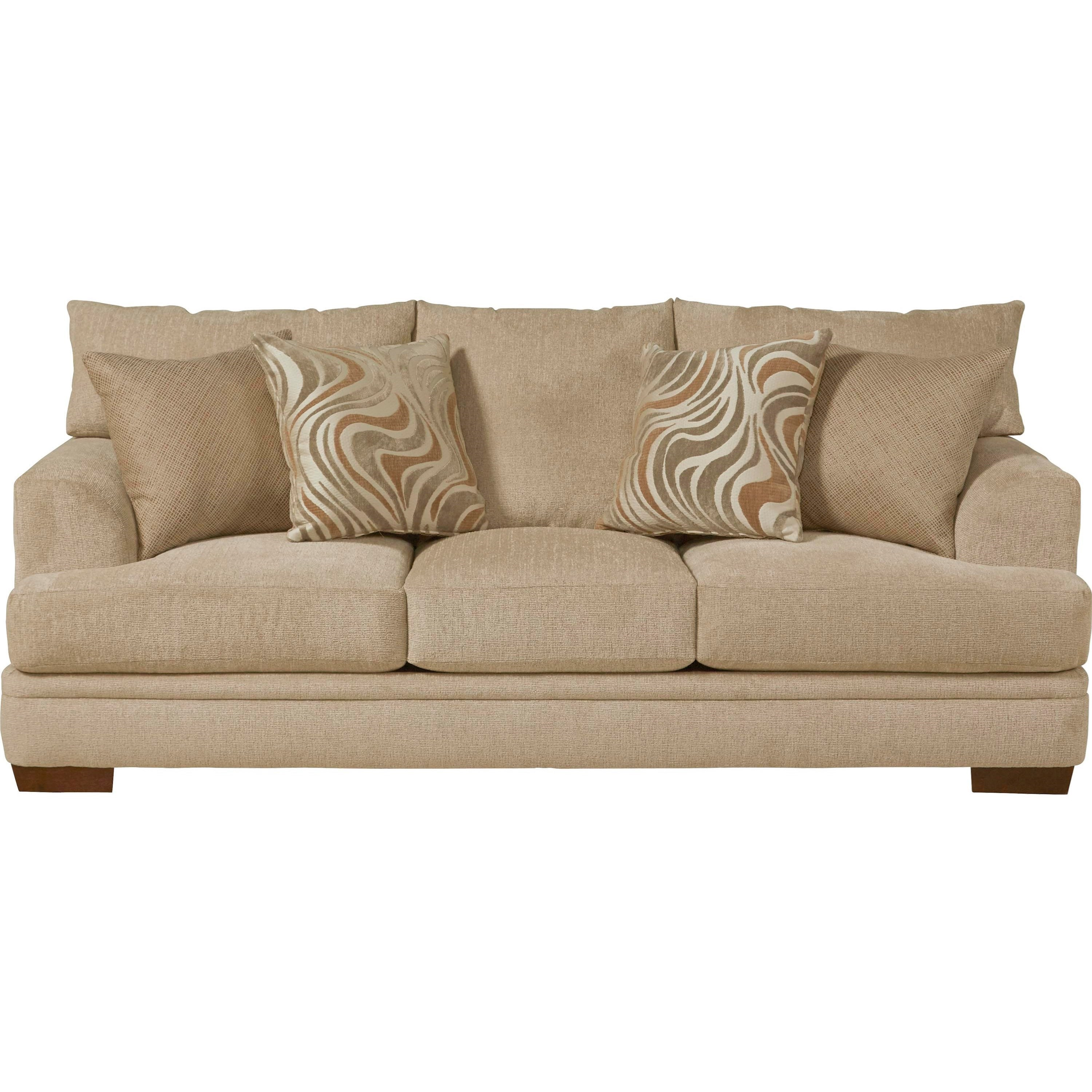 Jackson Furniture Crompton Sofa with Casual Style L Fish